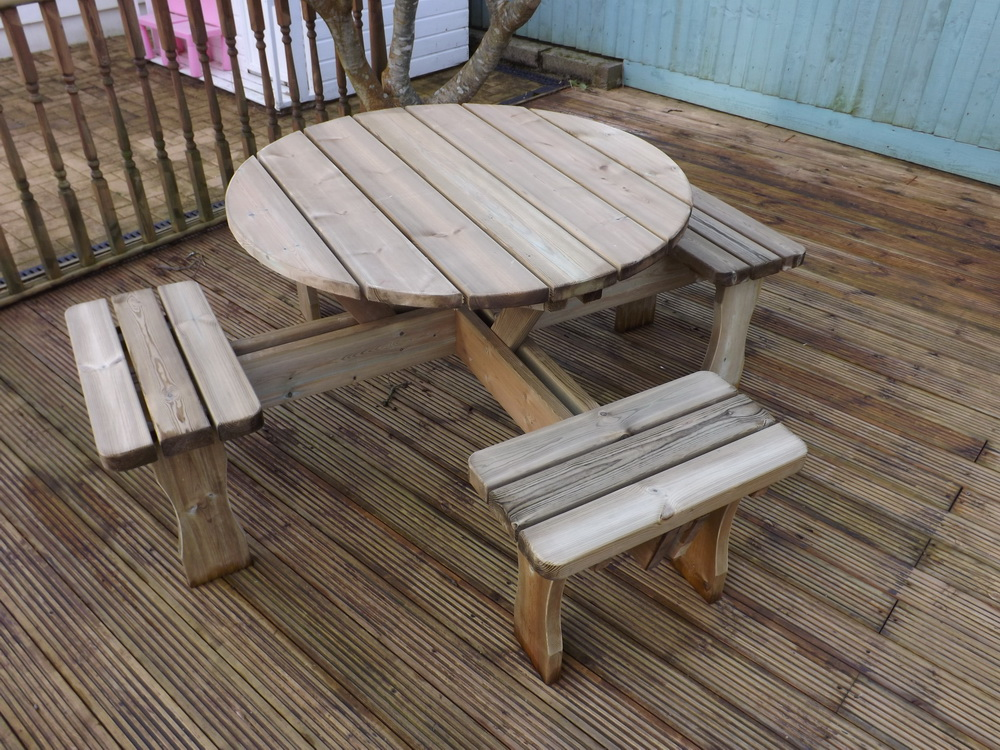 Wooden Garden Furniture Hardwood North Devon Long